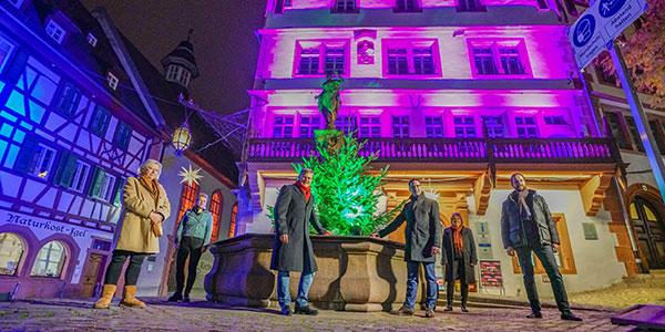 Weinheim sorgt für Lichtblicke