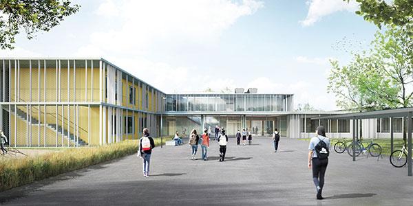 Zwei Schulen, ein Name: Zweiburgenschule