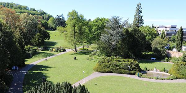 Weinheim schließt nachts wieder den Schlosspark