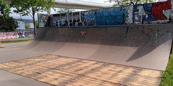 Skater-Anlage muss gesperrt werden