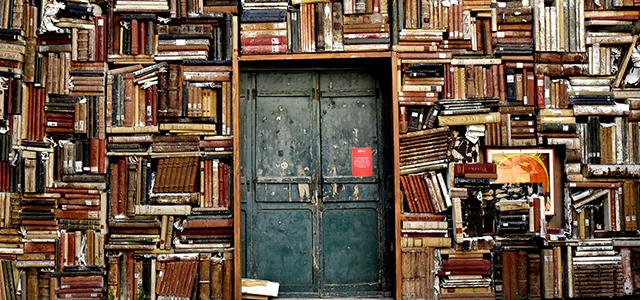 Bücher leihen mit Konzept