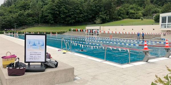 TSG-Waldschwimmbad öffnet am 10. Juni